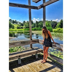 Photo taken at Cornell Plantations by Josh H. on 7/16/2013