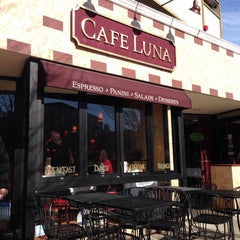 Photo taken at Cafe Luna by J B. on 11/6/2013
