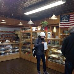 Photo taken at Madonia Bakery by Dilek K. on 11/19/2014