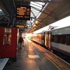Photo taken at Basingstoke Railway Station (BSK) by Gunter R. on 8/27/2013