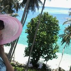 Photo taken at Sumur Tiga Beach. by Sue L. on 5/6/2015