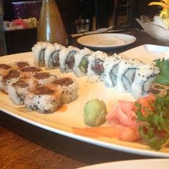 Photo taken at Sushi Thai Too by Douglas W. on 11/25/2012