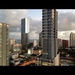Photo taken at Axis Brickell by Courtney B. on 1/12/2013