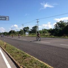 Photo taken at Ironman Cozumel by Amanda S. on 11/25/2012