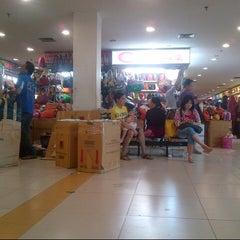 Photo taken at Pusat Grosir Senen Jaya by Ajhy S. on 12/28/2012