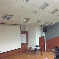 Photo taken at Kompleks Dewan Kuliah Fakulti Sains by Sam on 2/21/2013