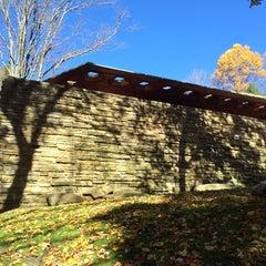 Photo taken at Kentuck Knob by Katie M. on 10/26/2014