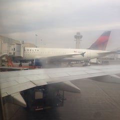 Photo taken at Gate 58A by Shane K. on 1/12/2014