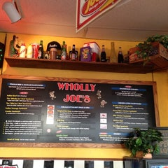 Photo taken at Wholly Joe's Chicago Eatery by Shayne C. on 11/8/2012