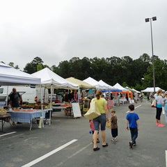 Photo taken at Chapel Hill's Farmers Market by Kim A. on 11/2/2012