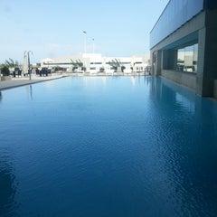 Photo taken at Thalasia Hotel & Thalasso Center by Enrique I. on 7/10/2013