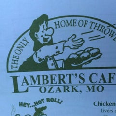 Photo taken at Lambert's Cafe by Rhorie M. on 10/7/2012