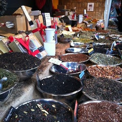 Photo taken at Union Square Holiday Market by Anna A. on 12/24/2012