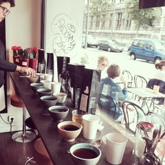 Photo taken at Caffènation by Roeland R. on 8/9/2014