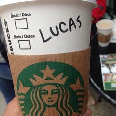 Photo taken at Starbucks by Lucas S. on 6/14/2014