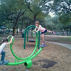 Photo taken at Springwoods Park by Elze H. on 10/13/2012