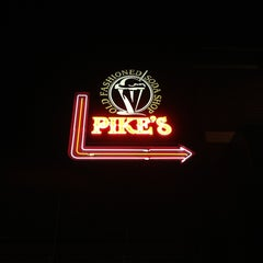 Photo taken at Pike's Old Fashioned Soda Shop by Siggy P. on 1/12/2013