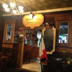 Photo taken at Bruschetteria antipasti and aperitivo bar by Darren D. on 3/5/2013