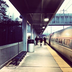 Photo taken at BWI Amtrak/MARC Rail Station (BWI) by Jesse F. on 3/7/2013