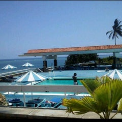 Photo taken at Mombasa Beach Hotel by Morgan A. on 2/3/2014