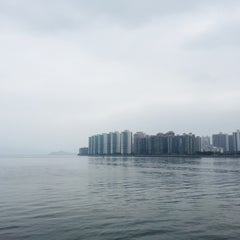 Photo taken at Ma Liu Shui Ferry Pier 馬料水渡輪碼頭 by Olivia L. on 4/25/2015