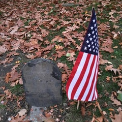 Photo taken at Paul Revere's Tomb by Mr. J on 11/15/2015