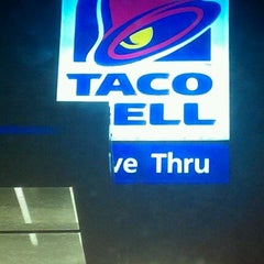 Photo taken at Taco Bell by Jessica B. on 10/28/2012
