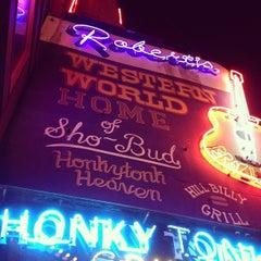 Photo taken at Robert's Western World by Matt W. on 3/24/2013