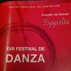 Photo taken at Teatre Principal by Julio C. on 6/16/2013