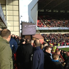Photo taken at The City Ground by Anna S. on 12/26/2012