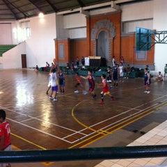 Photo taken at GOR Kodam Kepaon by Ivander D. on 10/11/2012