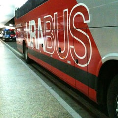 Photo taken at Airport Bus Service by Marcos Victor A. on 12/19/2012