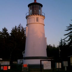 Photo taken at Umpqua Lighthouse State Park by Nancy G. on 10/17/2012