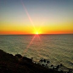 Photo taken at Praia de Jericoacoara by Melqui M. on 7/6/2013