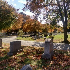 Photo taken at Chester Rural Cemetary by Drew M. on 10/30/2015