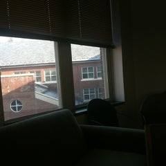 Photo taken at TCNJ - New Residence Hall by Dawn K. on 2/14/2013