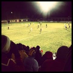 Photo taken at U-M Soccer Complex by Matt S. on 11/23/2013