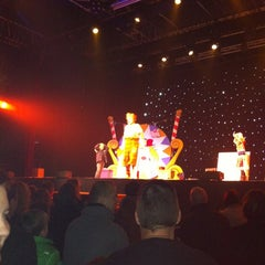 Photo taken at Groot Theater by Linda H. on 11/11/2012