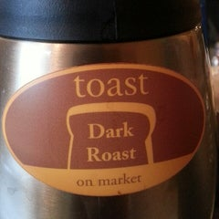 Photo taken at Toast on Market by Jaclyn E. on 3/1/2013