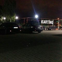 Photo taken at Aqualand karting by Melike Y. on 7/21/2015