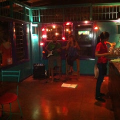 Photo taken at Café Milagro in Manuel Antonio by Jeff F. on 5/5/2013