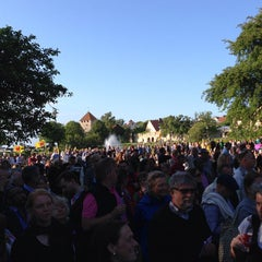 Photo taken at Almedalen by Pernilla N. on 7/2/2013
