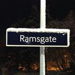 Photo taken at Ramsgate Railway Station (RAM) by Chris C. on 1/14/2013