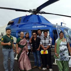 Photo taken at Pawan Hans by Vikas K. on 9/8/2014