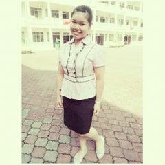 Photo taken at SMK Bandar Puchong Jaya (A) by Vivien S. on 10/31/2013