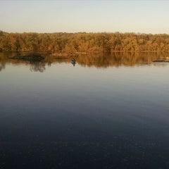 Photo taken at Susquehanna State Park by Marty M. on 10/25/2014