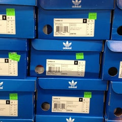 Photo taken at adidas Factory Outlet by Alex A. on 10/20/2012