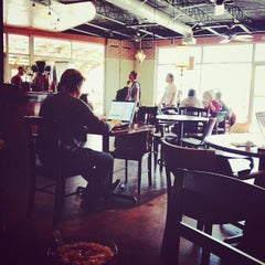 Photo taken at Epoch Coffee by Lisa M. on 3/15/2013
