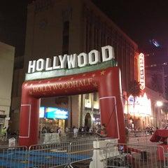 Photo taken at Hollywood Half Marathon & 5k / 10k by Jennifer H. on 4/6/2013