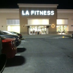 Photo taken at LA Fitness by Anthony Q. on 4/9/2014